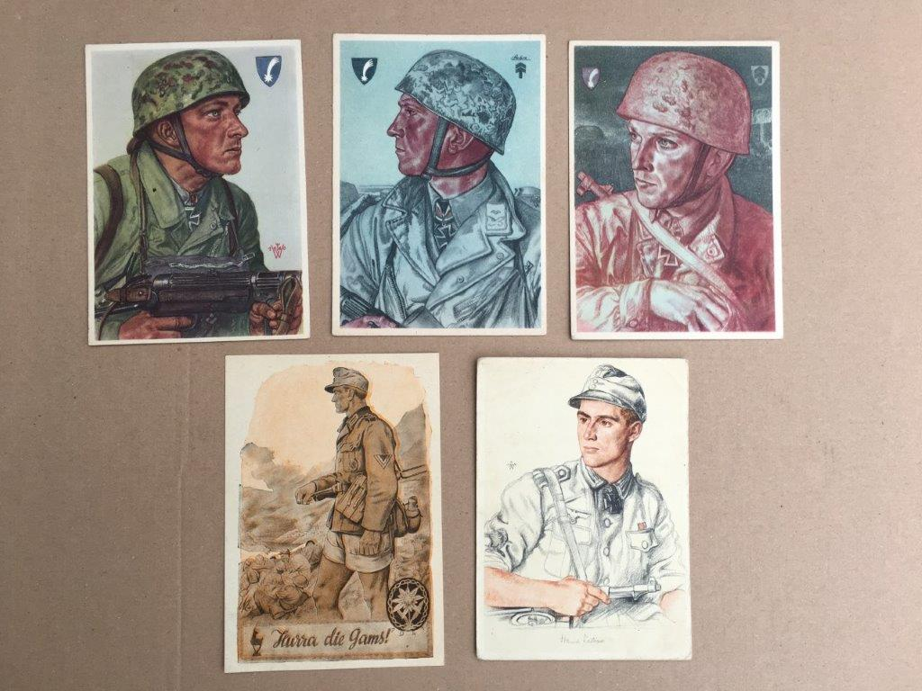 Set of 5 Postcards