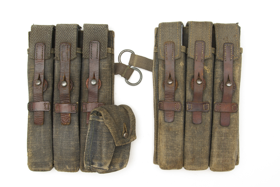 Rare MP40 pouch set produced by Friedrich Offerman & Söhne (dkk) Price € 1600,-