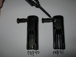 Bolt MP40 (left) and MP41 (right)
