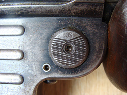 MP40/MP41 magazine release button with