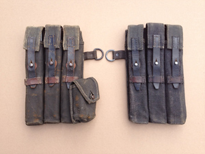 Rare MP40 pouch set Steyr-Daimler-Puch (bnz). Price €1.550,-