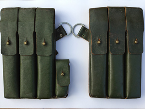 A Norwegian MP40 pouch set (front)
