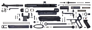 MP40 parts in detail