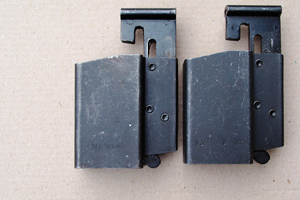 2 versions of the kur 43 Magazine loaders (left side)
