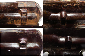 Inside differences of Bakelite foregrip