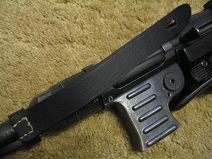 Reproduction safety strap on rare MP40