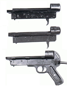 3 versions of the housing or the lower receiver