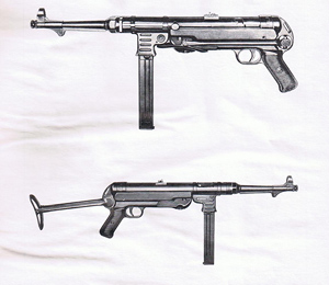 MP40 Left and right side
